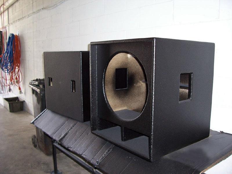 音箱聚脲防护喷涂案例
