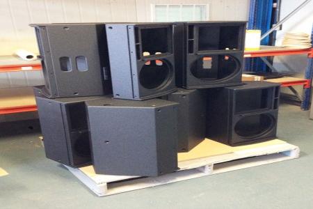 音箱聚脲防护案例