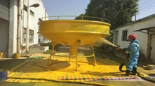 中山海上监测标聚脲防水喷涂