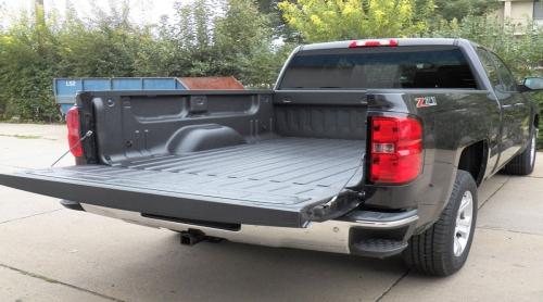 皮卡车聚脲耐磨防护案例